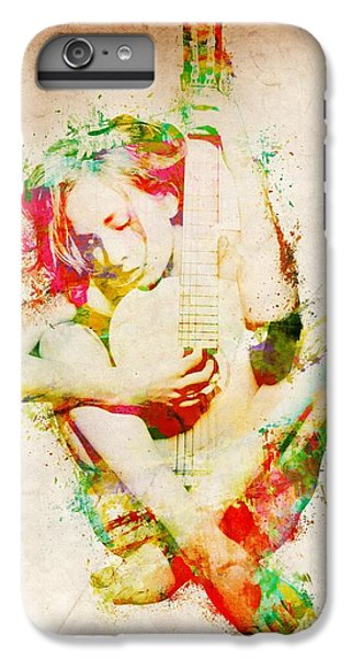 Guitar Lovers Embrace IPhone 6 Plus Case by Nikki Smith
