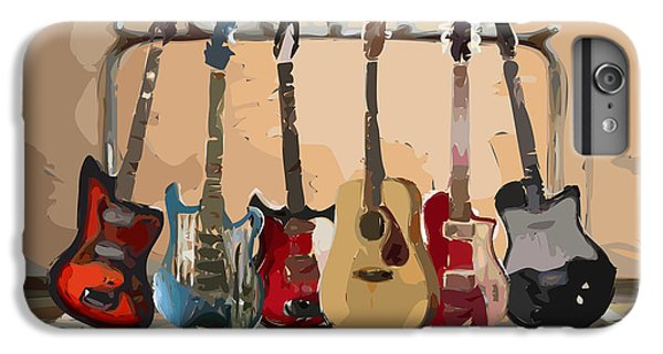 Guitars On A Rack IPhone 6 Plus Case