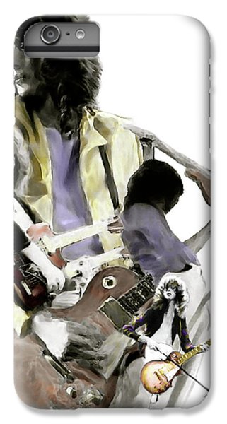 Hammer Of The Gods   Jimmy Page IPhone 6 Plus Case by Iconic Images Art Gallery David Pucciarelli