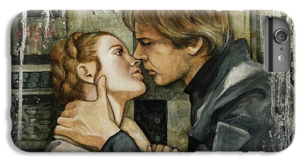 Han Solo iPhone 6 Plus Case - Han And Leia by Dori Hartley