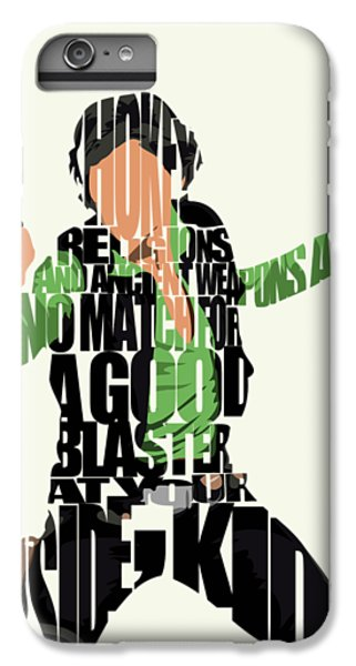 Han Solo iPhone 6 Plus Case - Han Solo From Star Wars by Inspirowl Design