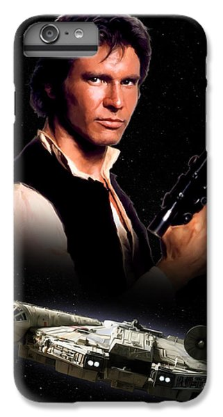 Han Solo iPhone 6 Plus Case - Han Solo by Paul Tagliamonte