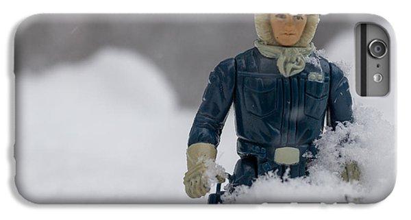 Han Solo iPhone 6 Plus Case - Han Solo Snowbound by Jacquie Gouveia
