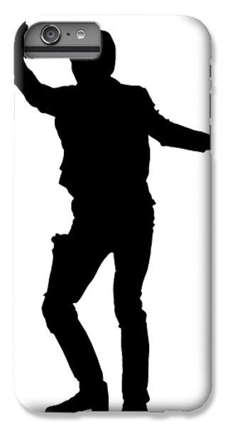 Han Solo iPhone 6 Plus Case - Han Solo Star Wars Tee by Edward Fielding