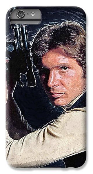 Han Solo iPhone 6 Plus Case - Han Solo by Zapista Zapista