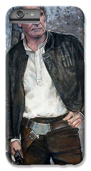 Han Solo iPhone 6 Plus Case - Han Solo by Tom Carlton