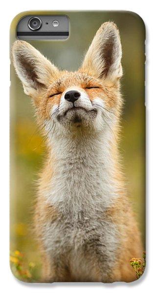 Happy Fox IPhone 6 Plus Case