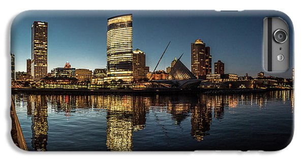 IPhone 6 Plus Case featuring the photograph Harbor House View by Randy Scherkenbach