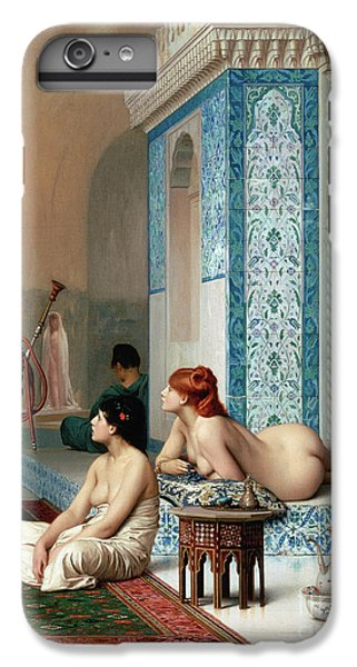 Harem Pool, Jean-leon Gerome IPhone 6 Plus Case