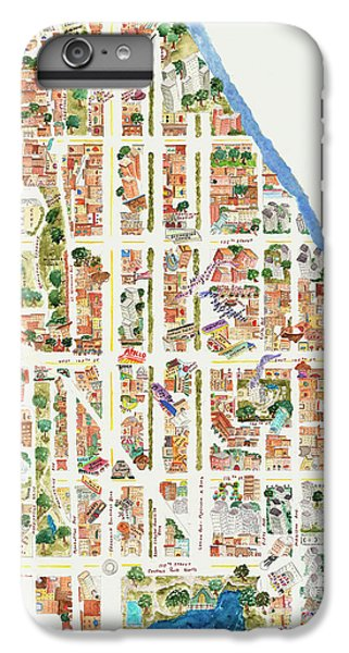 Harlem iPhone 6 Plus Case - Harlem From 106-155th Streets by Afinelyne