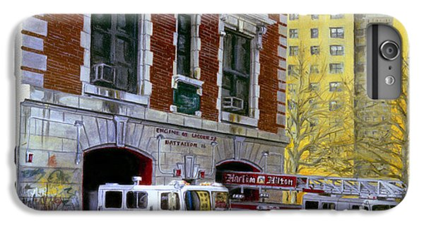 Harlem iPhone 6 Plus Case - Harlem Hilton by Paul Walsh