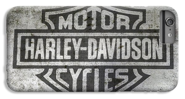 Harley Davidson Logo On Metal IPhone 6 Plus Case