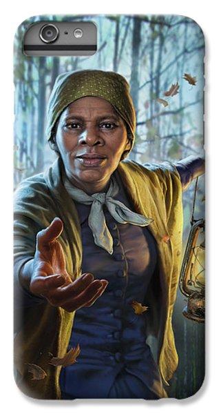 Train iPhone 6 Plus Case - Harriet Tubman by Mark Fredrickson