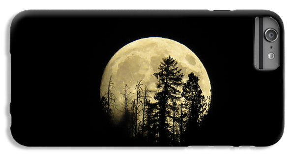 IPhone 6 Plus Case featuring the photograph Harvest Moon by Karen Shackles