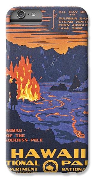 Hawaii Vintage Travel Poster IPhone 6 Plus Case