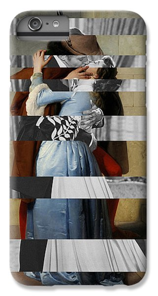 Hayes's The Kiss And Vivien Leigh With Clark Gable IPhone 6 Plus Case by Luigi Tarini