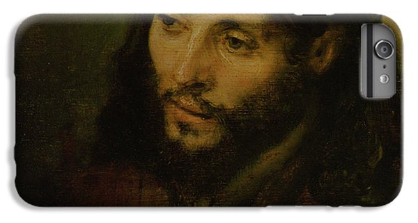 Christ iPhone 6 Plus Case - Head Of Christ by Rembrandt