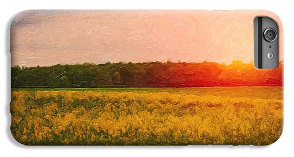 Rural Scenes iPhone 6 Plus Case - Heartland Glow by Tom Mc Nemar