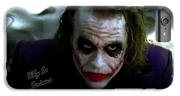 Heath Ledger Joker Why So Serious IPhone 6 Plus Case