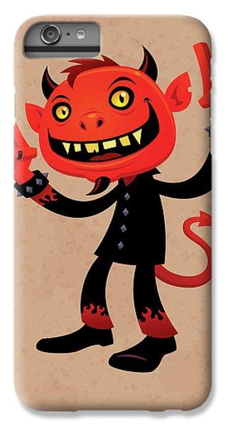 Heavy Metal Devil IPhone 6 Plus Case