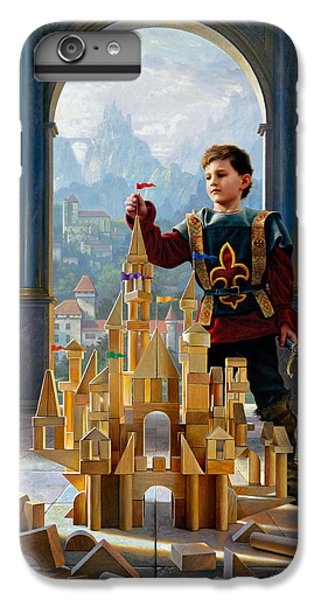 Heir To The Kingdom IPhone 6 Plus Case by Greg Olsen