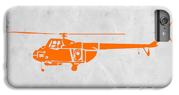 Airplane iPhone 6 Plus Case - Helicopter by Naxart Studio