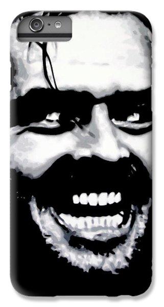 Jack Nicholson iPhone 6 Plus Case - Heres Johnny by Hood alias Ludzska