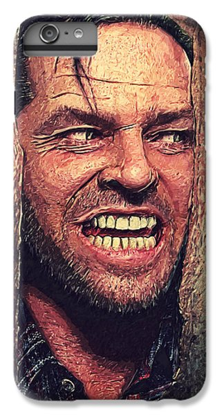 Here's Johnny - The Shining  IPhone 6 Plus Case by Taylan Apukovska