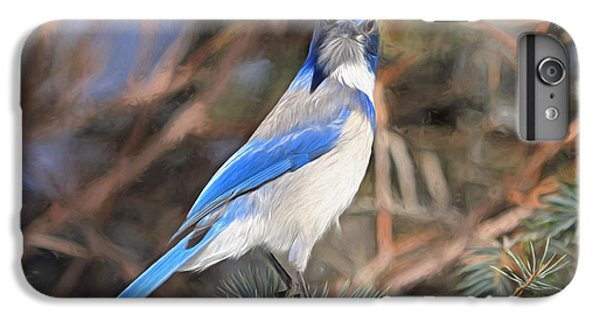 Bluejay iPhone 6 Plus Case - Here's Looking At You,  Kid by Donna Kennedy