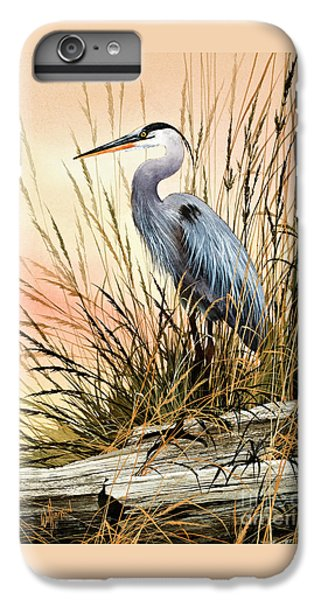 Heron iPhone 6 Plus Case - Heron Sunset by James Williamson