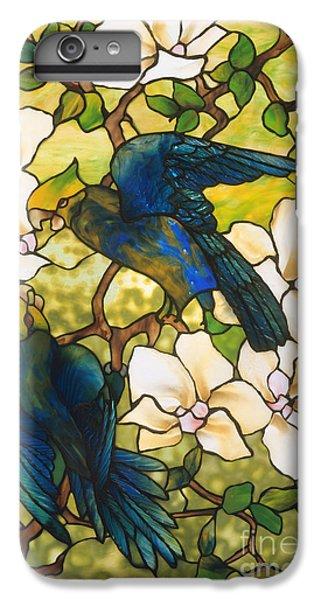 Hibiscus And Parrots IPhone 6 Plus Case