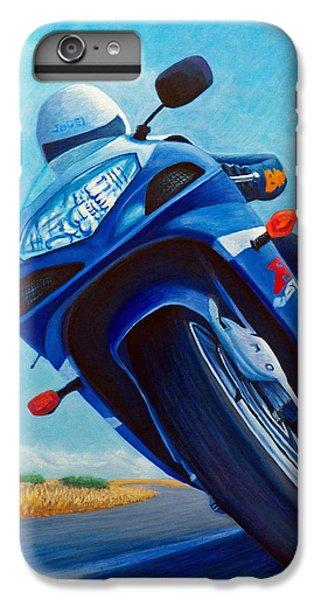 High Desert Pass - Suzuki Gsxr1000 IPhone 6 Plus Case by Brian  Commerford