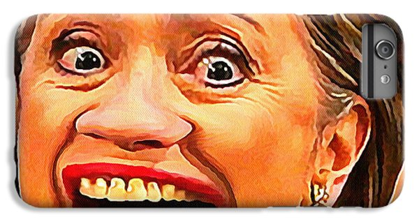 Hillary Clinton IPhone 6 Plus Case by Anthony Caruso
