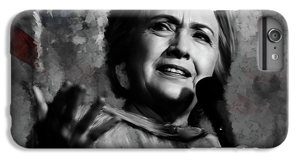 Hillary Clinton  IPhone 6 Plus Case by Gull G