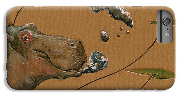 Hippo Bubbles IPhone 6 Plus Case