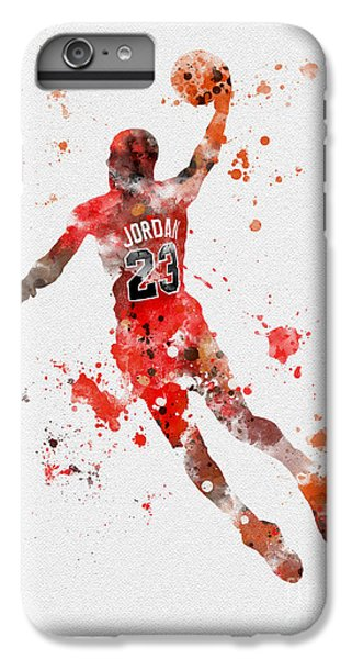 His Airness IPhone 6 Plus Case by Rebecca Jenkins