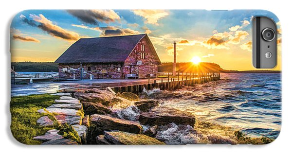 Historic Anderson Dock In Ephraim Door County IPhone 6 Plus Case