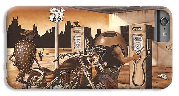 Martini iPhone 6 Plus Case - Historic Route 66 by Michael Godard