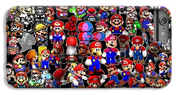 History Of Mario Mosaic IPhone 6 Plus Case