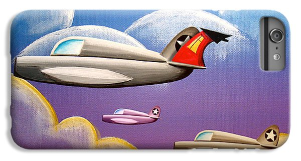 Airplane iPhone 6 Plus Case - Hold On Tight by Cindy Thornton