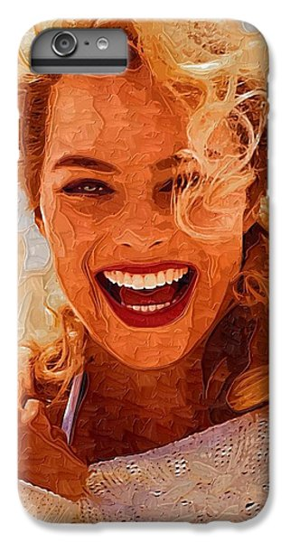 Hollywood Star Margot Robbie IPhone 6 Plus Case