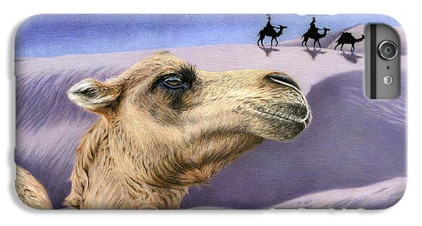 Holy Night IPhone 6 Plus Case by Sarah Batalka