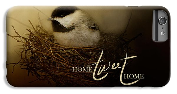 Home Tweet Home With Words IPhone 6 Plus Case by Jai Johnson