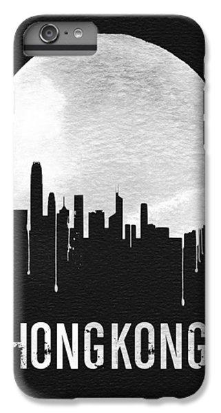 Hong Kong Skyline Black IPhone 6 Plus Case by Naxart Studio