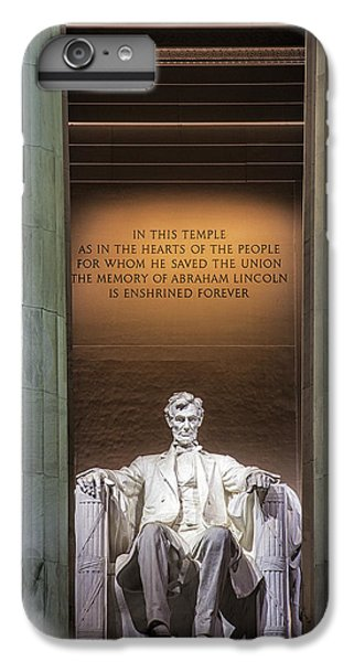 Honored For All Time IPhone 6 Plus Case by Andrew Soundarajan