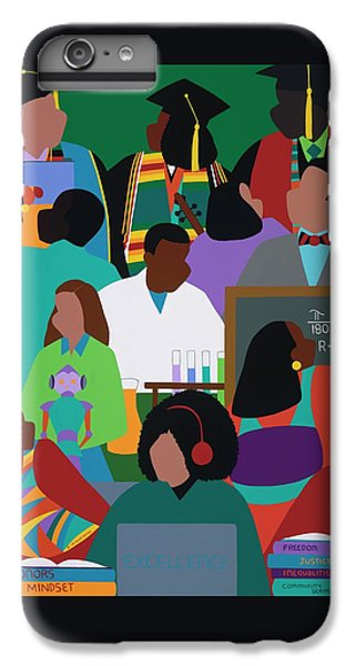 iPhone 6 Plus Case - Honors Mindset by Synthia SAINT JAMES