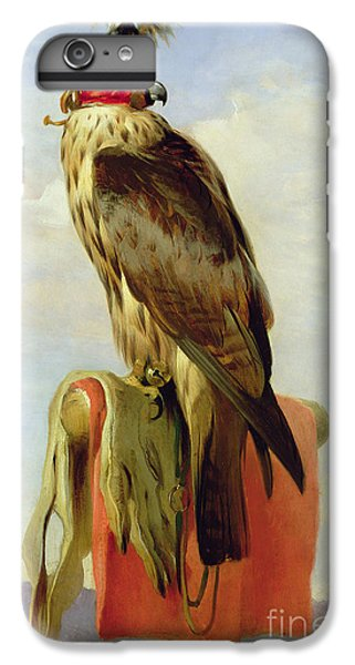 Hooded Falcon IPhone 6 Plus Case by Sir Edwin Landseer