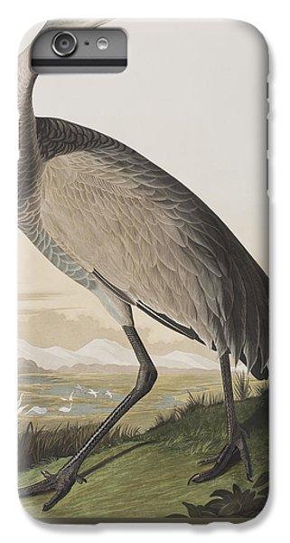 Hooping Crane IPhone 6 Plus Case by John James Audubon
