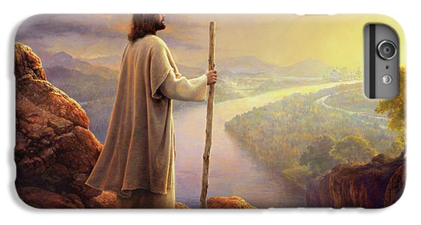 Christ iPhone 6 Plus Case - Hope On The Horizon by Greg Olsen