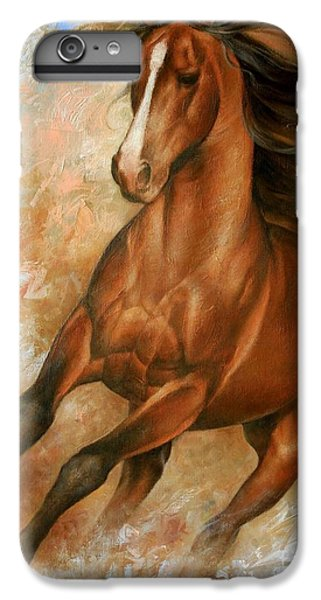 Wildlife iPhone 6 Plus Case - Horse1 by Arthur Braginsky